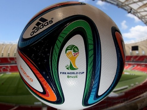 Brazuca- the official ball of the 2014 World Cup